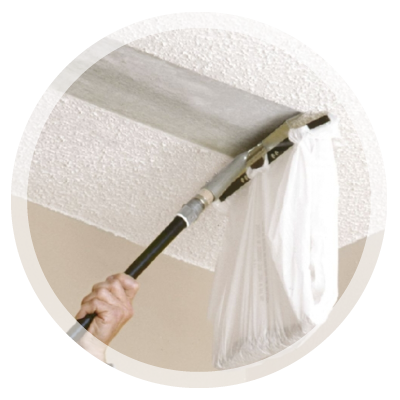 Popcorn Ceiling Removal